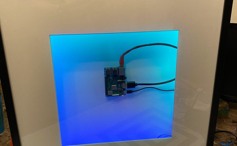 How to build a raspberry pi picture frame media pc